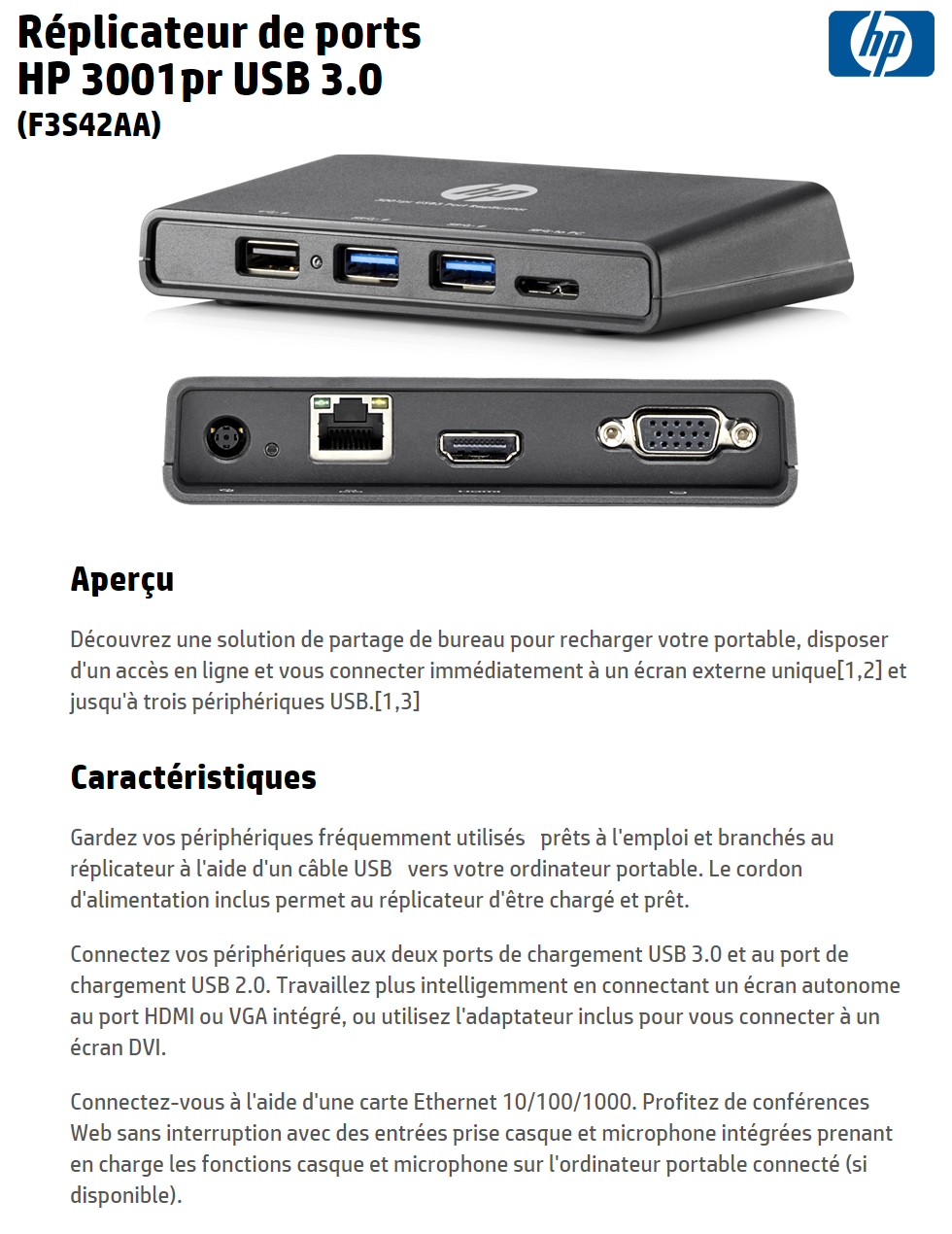 hp 3001pr usb 3.0 port replicator manual