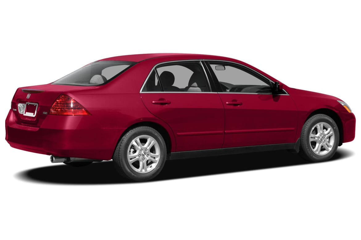 2007 honda accord car manual