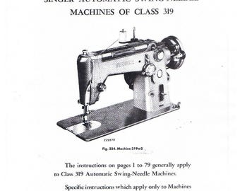 singer touch and sew 638 parts manual