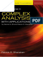 complex analysis dennis g zill solution manual pdf free download