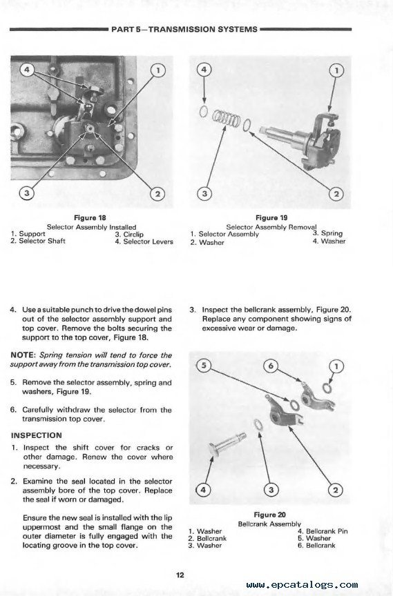 ford tractor parts manual online
