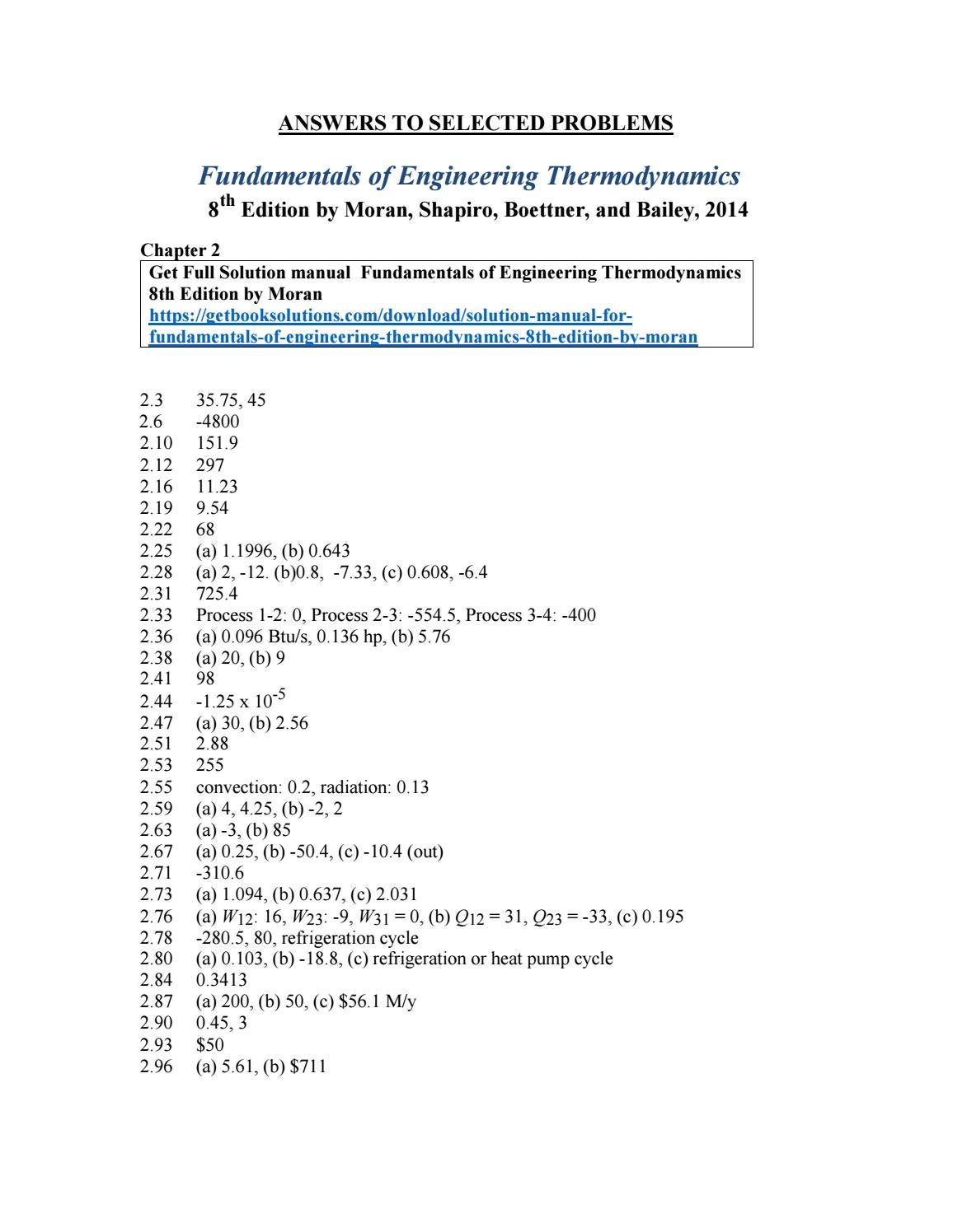 solution manual for chapter 16 thermodynamics
