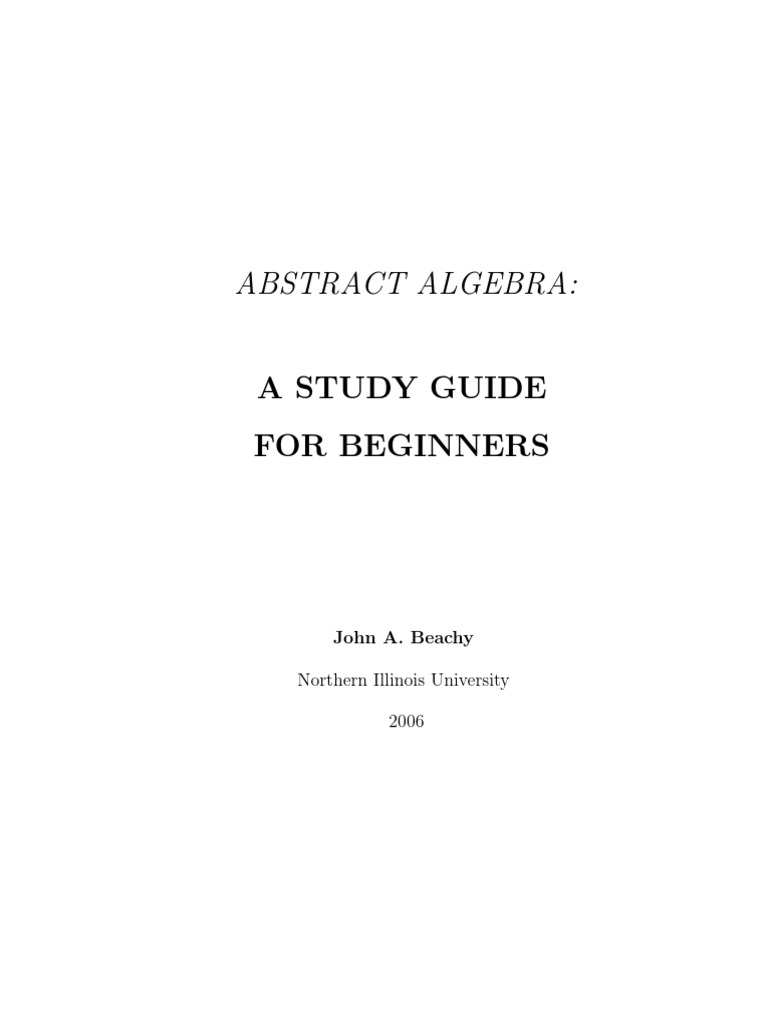 abstract algebra manual problems and solutions pdf