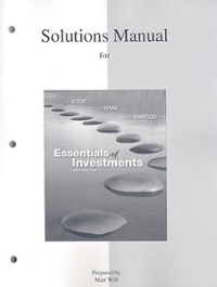 essentials of investments 9th edition solutions manual
