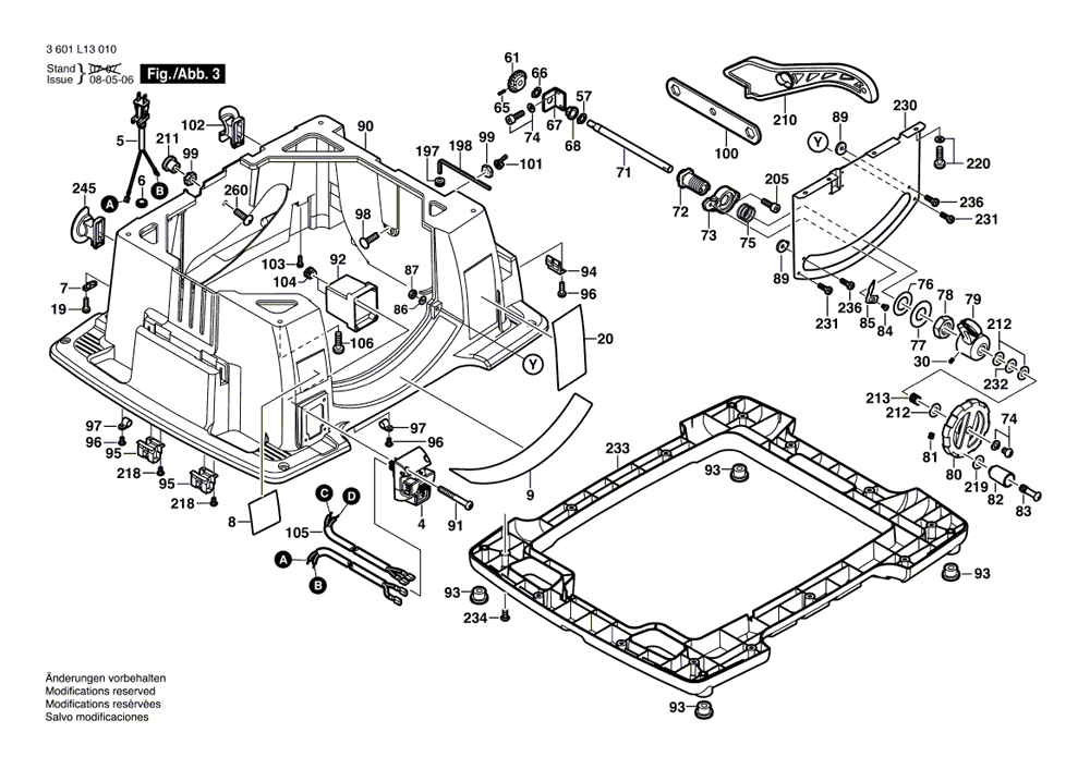 bosch 4100 table saw parts manual