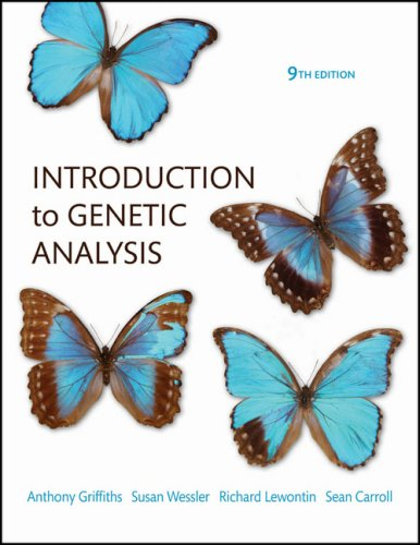 intro to genetic analysis solution manual