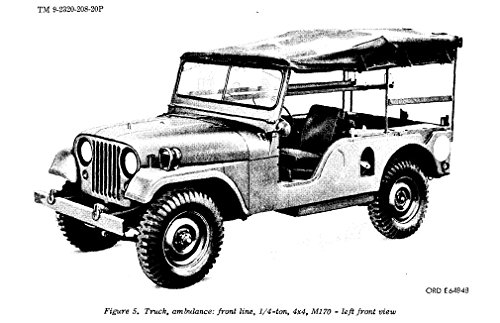 jeep willys m38a1 and versions parts manual