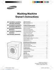 manual washing machine problems and solutions