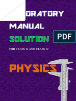 physics labortory manual solutions 3rdc